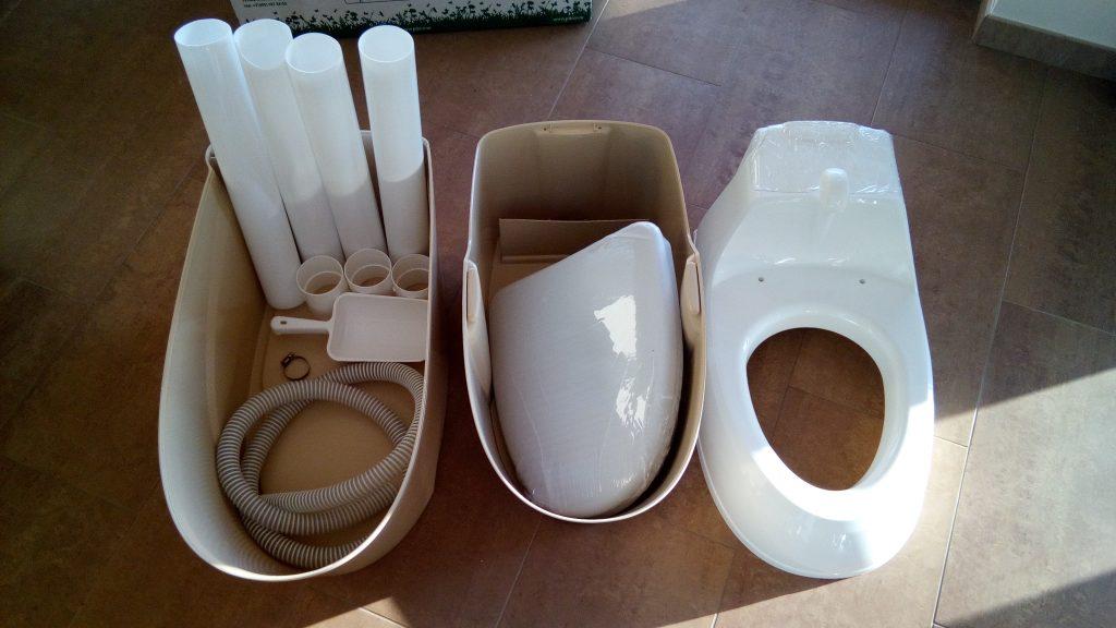 Tualeto komplektacija